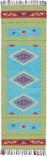 Nourison Baja Blue Green 2'3″ x 7'6″ Runner BAJ02BLGRNRUNNER