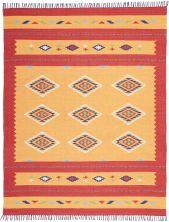 Nourison Baja Modern/Contemporary, Orange/Red 8'0″ x 10'0″ BAJ02RNGRD8X10