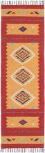 Nourison Baja Modern/Contemporary, Orange/Red 2'3″ x 7'6″ Runner BAJ02RNGRDRUNNER
