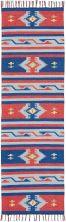 Nourison Baja Modern/Contemporary, Blred 2'3″ x 7'6″ Runner BAJ03BLRDRUNNER
