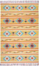 Nourison Baja Modern/Contemporary Yellow 8'0″ x 10'0″ BAJ03YLLW8X10