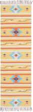 Nourison Baja Modern/Contemporary Yellow 2'3″ x 7'6″ Runner BAJ03YLLWRUNNER