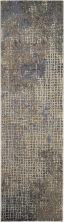 Kathy Ireland Moroccan Celebration Ivory/Grey 2'2″ x 7'6″ Runner KI383VRYGRY8RUNNER