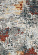 Nourison Artworks Slate/Brick 5'6″ x 8'0″ ATW03SLTBRCK6X8