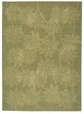 Nourison Capri Floral/Botanical Sage 9'6″ x 13'0″ CAP1SG9X12