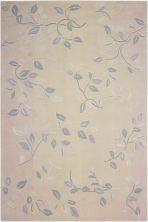 Nourison Contour Floral, Botanical Cream 8'0″ x 10'6″ CON03CRM8X10