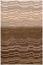 Nourison Contour Modern/Contemporary, Striped, Natural 3'6″ x 5'6″ CON04NTRL4X6