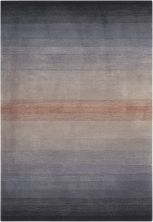 Nourison Contour Striped, Grey 3'6″ x 5'6″ CON08GRY4X6