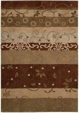 Nourison Contour Patchwork/Bohemian, Striped, Multicolor 8'0″ x 10'6″ CON10MLTCLR8X10