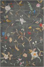 Nourison Contour Floral/Botanical, Slate 8'0″ x 10'6″ CON12SLT8X10