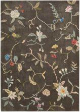 Nourison Contour Floral/Botanical, Tobacco 7'3″ x 9'3″ CON12TBCC6X9