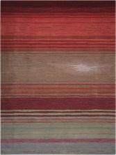 Nourison Contour Striped Flame 8'0″ x 10'6″ CON15FLM8X10