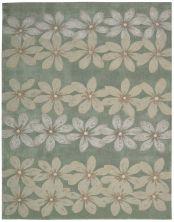 Nourison Contour Floral/Botanical, Sage 8'0″ x 10'6″ CON16SG8X10