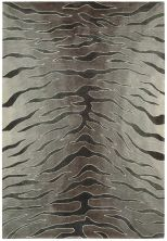 Nourison Contour Animal Print, Modern/Contemporary, Silver 8'0″ x 10'6″ CON30SLVR8X10