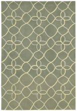 Nourison Contour Geometric, Modern/Contemporary, Sage 8'0″ x 10'6″ CON41SG8X10