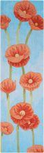 Nourison Contour Floral/Botanical, Blue 2'3″ x 8'0″ Runner CON79BLRUNNER