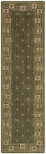 Nourison Cosmopolitan Traditional, Trellis, Spruce 2'3″ x 8'0″ Runner CS95SPRCRUNNER