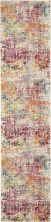 Nourison Celestial Pink/Multicolor 2'2″ x 10'0″ CES13PNKMLTCLR10RUNNER