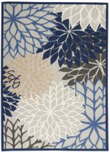 Nourison Aloha Blue/Multicolor 6'0″ x 9'0″ ALH05BLMLTCLR6X9