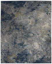 Nourison Artworks Blue/Grey 7'9″ x 9'9″ ATW02BLGRY8X10