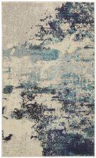 Nourison Celestial Ivory/Teal Blue 3'0″ x 5'0″ CES02VRYTLBL3X5