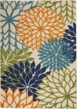 Nourison Aloha Contemporary Multicolor 6'0″ x 9'0″ ALH05MLTCLR6X9