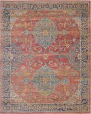 "Nourison Ankara Global Multicolor 7'10"" x 9'10"" ANR01MLTCLR8X10"
