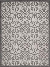 Nourison Aloha Grey/Charcoal 9'6″ x 13'0″ ALH21GRYCHRCL10X13
