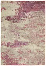 Nourison Celestial Ivory/Pink 5'3″ x 7'3″ CES02VRYPNK5X7
