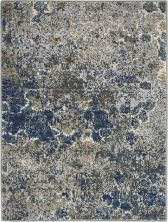 Nourison Artworks Blue/Grey 2'3″ x 0'3″ ATW02BLGRY2X3