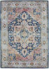 Nourison Ankara Global Blue/Multicolor 5'3″ x 7'6″ ANR11BLMLTCLR5X8