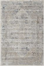 Kathy Ireland Ki25 Rustic/Vintage, Traditional, Ivory/Blue 5'3″ x 7'7″ MAI01VRYBL5X8
