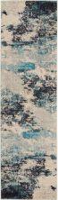 Nourison Celestial Ivory/Teal Blue 2'2″ x 7'6″ Runner CES02VRYTLBL8RUNNER