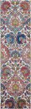 Nourison Ankara Global Ivory/Blue 2'4″ x 8'0″ Runner ANR06VRYBL8RUNNER