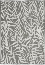 Nourison Aruba Ivory/Grey 4'3″ x 6'3″ ARB06VRYGRY4X6