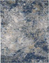 Nourison Artworks Blue/Grey 9'6″ x 12'6″ ATW02BLGRY10X13