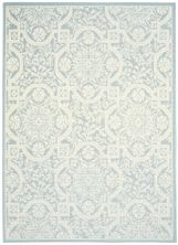 Nourison Aruba Light Blue/Cream 5'3″ x 7'3″ ARB02LGHTBLCRM5X7
