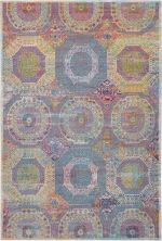 Nourison Ankara Global Multicolor 5'3″ x 7'6″ ANR05MLTCLR5X8