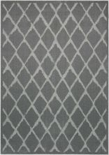 Michael Amini Ma60 Gleam Grey 5'3″ x 7'3″ MA601GRY5X8