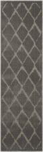 Michael Amini Ma60 Gleam Grey 2'2″ x 7'6″ Runner MA601GRYRUNNER