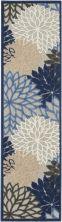 Nourison Aloha Blue/Multicolor 2'3″ x 8'0″ Runner ALH05BLMLTCLR8RUNNER