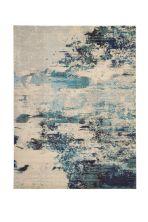 Nourison Celestial Ivory/Teal Blue 10'0″ x 14'0″ CES02VRYTLBL10X14