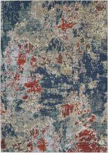 Nourison Artworks Navy/Brick 5'6″ x 8'0″ ATW01NVYBRCK6X8