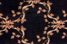 Ashton House Nourison  Ribbon Trellis A01f Beige Broadloom BLACK 1-A01FBLACKBR1300WV