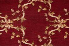 Ashton House Nourison  Ribbon Trellis A01f Beige Broadloom BURGUNDY 1-A01FBURGUBR1300WV