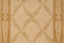 Chateau Nourison  Normandy No21 Brown/Green Runner BEIGE CHATENO21BEIGE