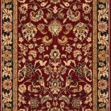 Grand Parterre Nourison  Kashan Elite Pt01 Blue Runner RED GPARTPT01RED