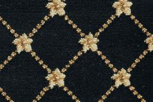 Luxe Pointe Nourison  Flower Trellis Lp03 Brown Broadloom BLACK 1-LP03BLACKBR1302WV