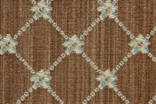 Luxe Pointe Nourison  Flower Trellis Lp03 Black Broadloom BROWN 1-LP03BROWNBR1302WV