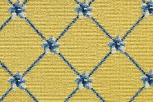 Luxe Pointe Nourison  Flower Trellis Lp03 Black Broadloom YELLOW 1-LP03YELLOBR1302WV